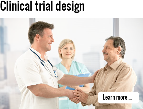 Click to learn more about clinical trial design consulting