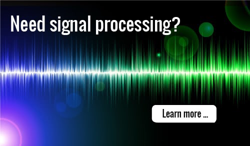 Click to learn more about consulting help with signal processing