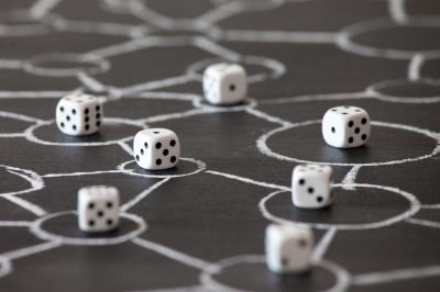 dice in a network