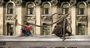 Spiderman versus Dr. Ock