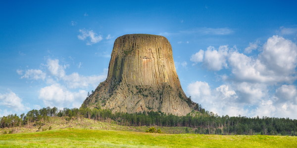 Devil's Tower in Montana