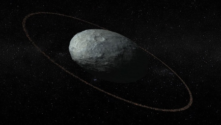 Artists conception of Haumea