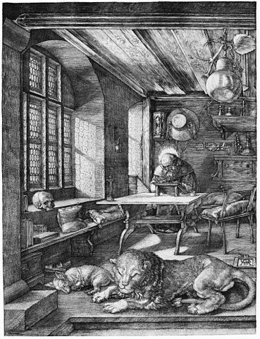 Saint Jerome in His Study (Dürer)