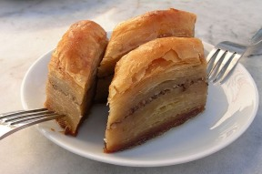 Baklava. Photo credit Wikipedia