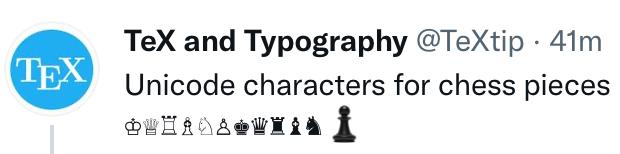 screenshot of tweet with giant pawn