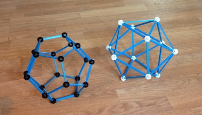 dodecahedron and icosahedron
