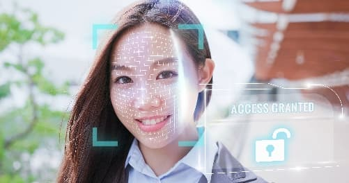 facial scan authentication