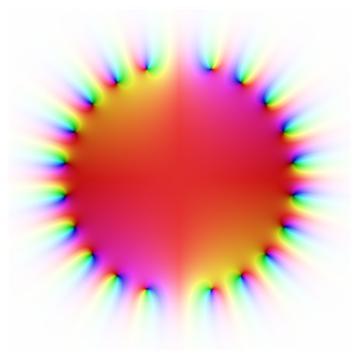 1 - z^2 + z^4 - ... + z^20