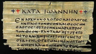 Fragment of the Gospel of John in Greek