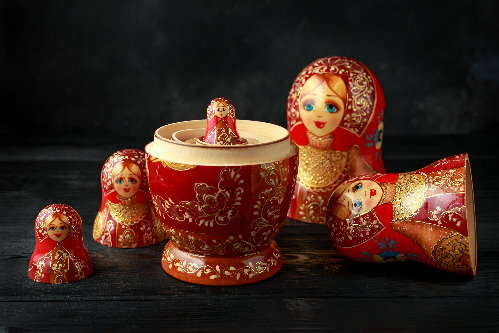 nested Russian dolls