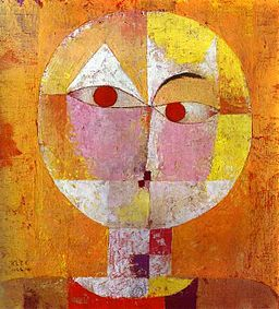 Senecio by Paul Klee, 1922
