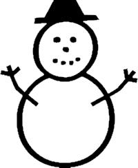 snowman U+2503