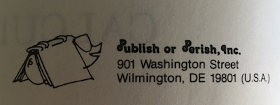 Publish or Perish old logo