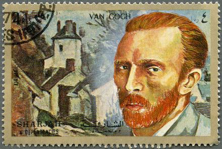 Van Gogh stamp